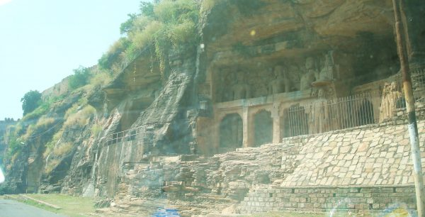 Rock Cut Statues of Jain Teerthankars