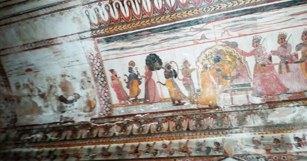 Orchha Fort Painting