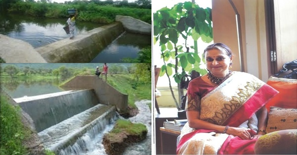 Amla Ruia has transformed hundreds of villages in Rajasthan and other states of India to be self dependent through her water harvesting techniques, especially check dams and water kunds.