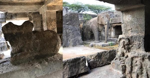 Shivleni caves temple of Ambejogai