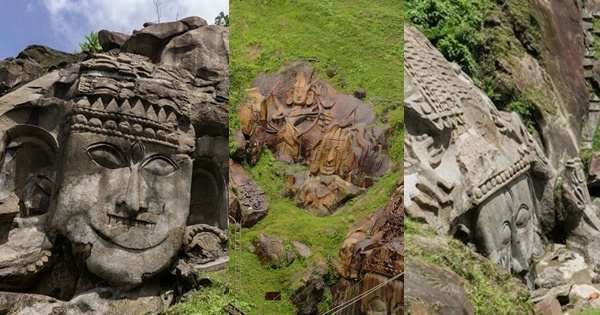 Unakoti: One Less than a Crore Rock-carved Figures and Stone Images!
