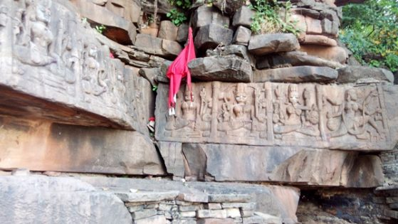 Goddess Durga, the epitome of women empowerment; Ajaigarh Fort ruins
