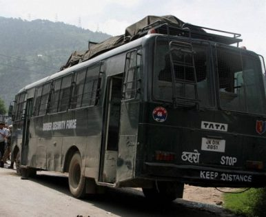 Bus where Rocky encountered terrorists