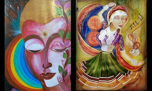 Paintings by Upma Rastogi