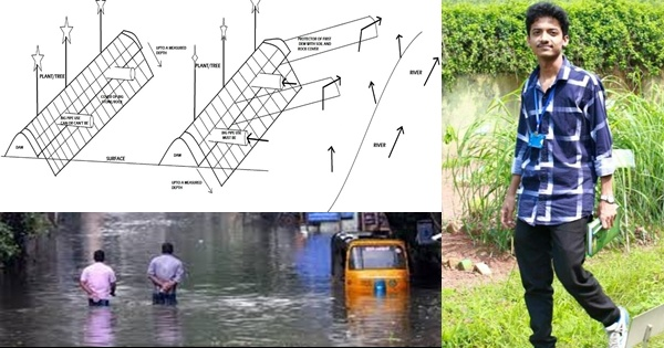 Dhrubajyoti Kakati's embankment design to control flood