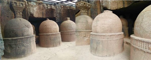 Bhaje Cave Temple Stupas