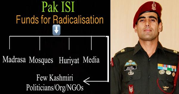 Kashmiri Youth issue tweet by Maj Poonia