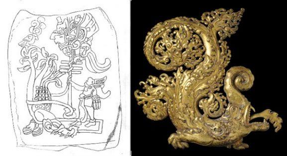 Makara Tibet Izapa stela25