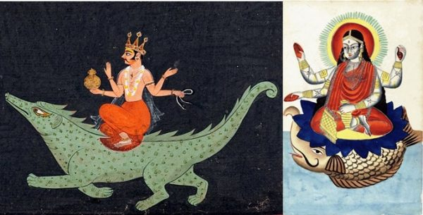 Makara, Varuna and Ganga