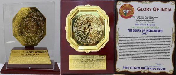 Pravin Daryani IILD awards