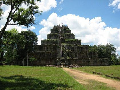 Pyramid in Cambodia