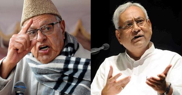 Farook Abdullah Nitish Kumar