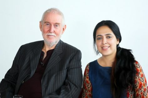 Film Director Beenu Rajpoot with Tom Alter