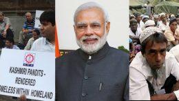 Kashmiri Pandits and Rohingyas issue
