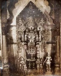 Old image of Washim Vishnu idol