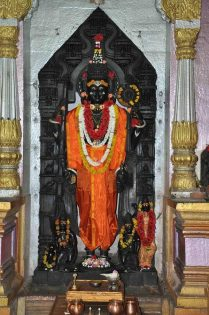 Vishnu idol Lonar