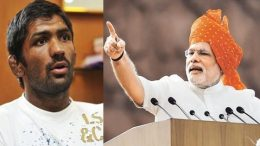 Yogeshwar Dutt and Modi
