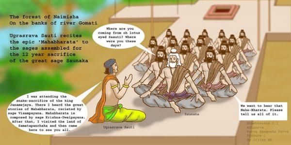 Mahabharata - Ugrasrava and Saunaka