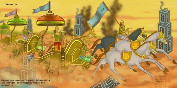 Mahabharata - Janamejaya conquers Takshasila