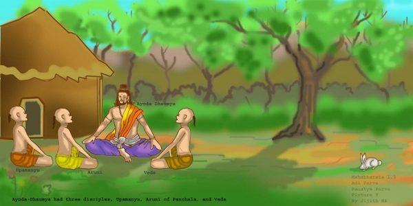 Mahabharata - Ayoda Dhaumya and Desciples