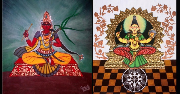 Pratyasha Nithin paintings