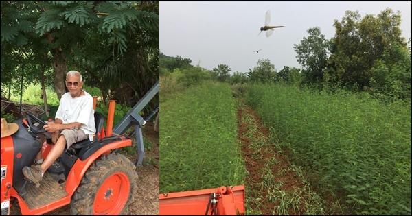land restoration by Shridharan DV