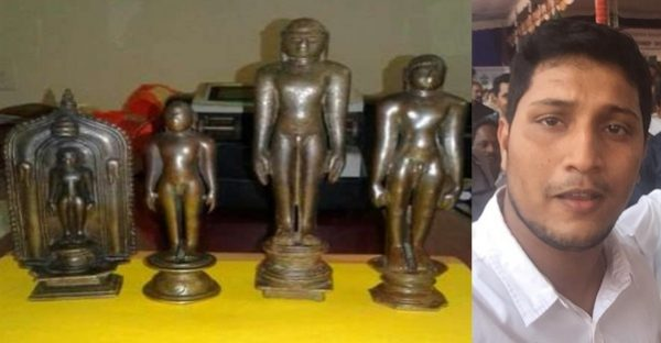 Jain idols theft