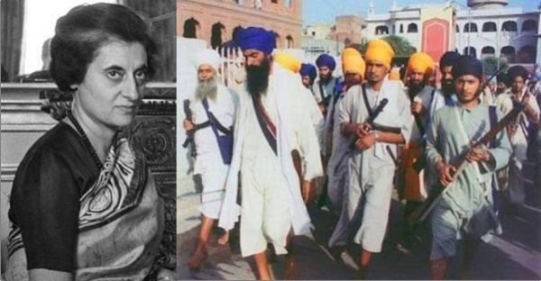 Sikhs Indira Gandhi Khalistanis