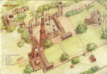 Qutub Minar - Temple Complex