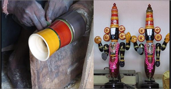 wooden toys of Etikoppa