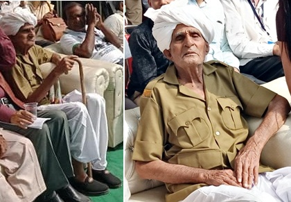 INA Veteran Hira Singh