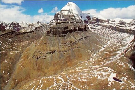 The Lingam of Mount Kailash