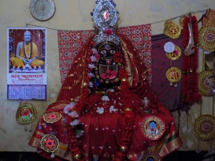 temple of Goddess Kali visited by Bir Singh