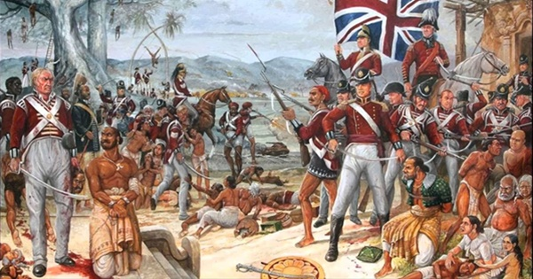British colonial rule