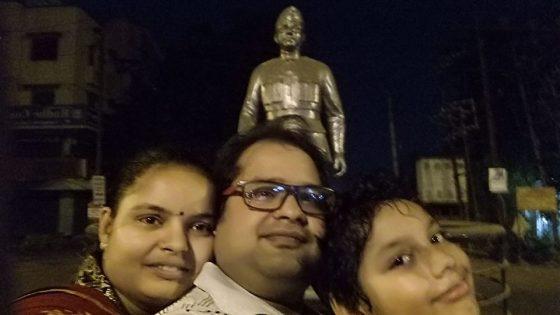 Selfie with Netaji Bose Statue