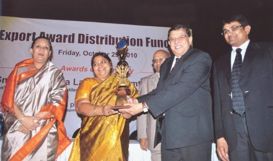 CIDBI award received by Mr. Rajesh Kumar