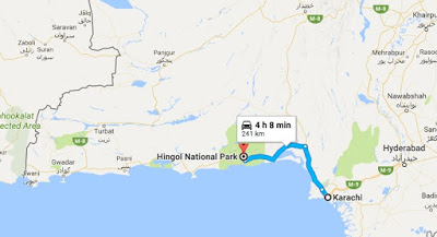 Karachi to Hingol National park