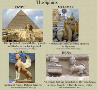 The Sphinx across cultures