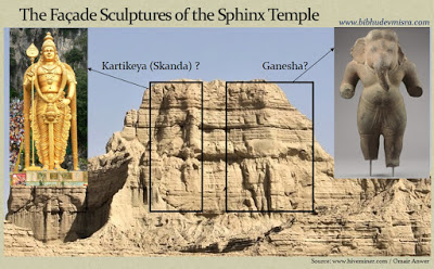 balochsitan sphinx temple Kartikeya Ganesha