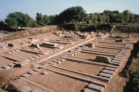 Indus valley granaries