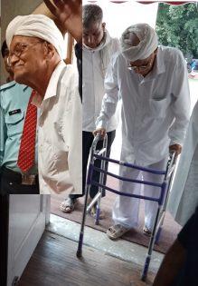Shri Jagram INA Veteran