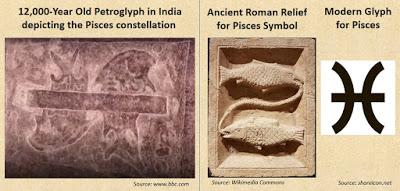Petroglyph Ratnagiri Pisces