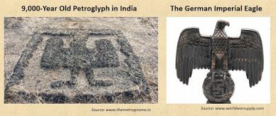 Petroglyph Sindhudurg Imperial Eagle