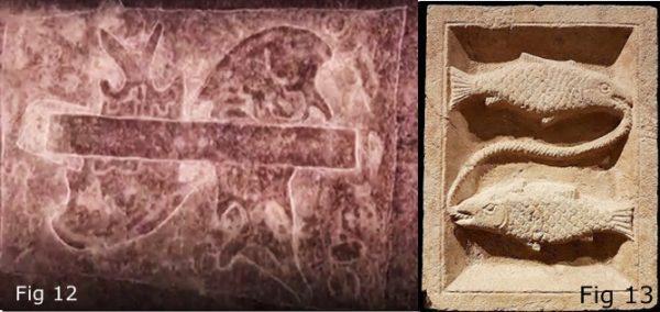 Petroglyph pisces