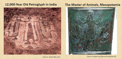 Petroglyphs Master of Animals