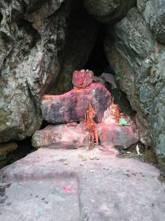 Shrine at Parshuram Kund