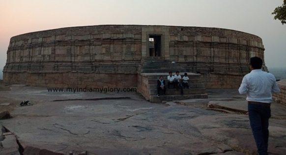 Morena 64 Yogini temple