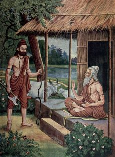 Parshuram and Jamadagni