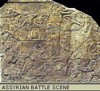 assyria battle
