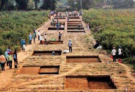 Asurgarh Fort excavations